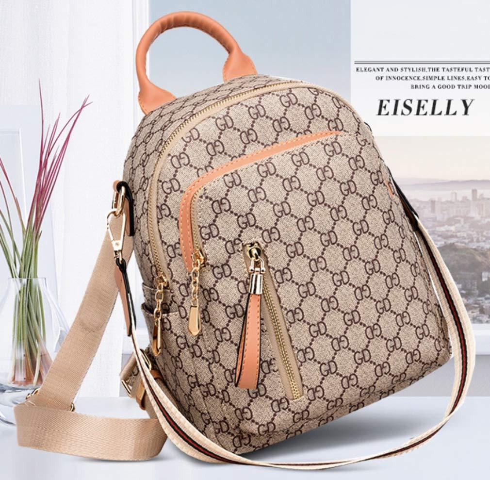 RSQJ Female Bag Shoulder Bag Small Bag Leisure Multi-Function Backpack (Color : C, Size : 22102cm) by RSQJ backpack (Image #2)