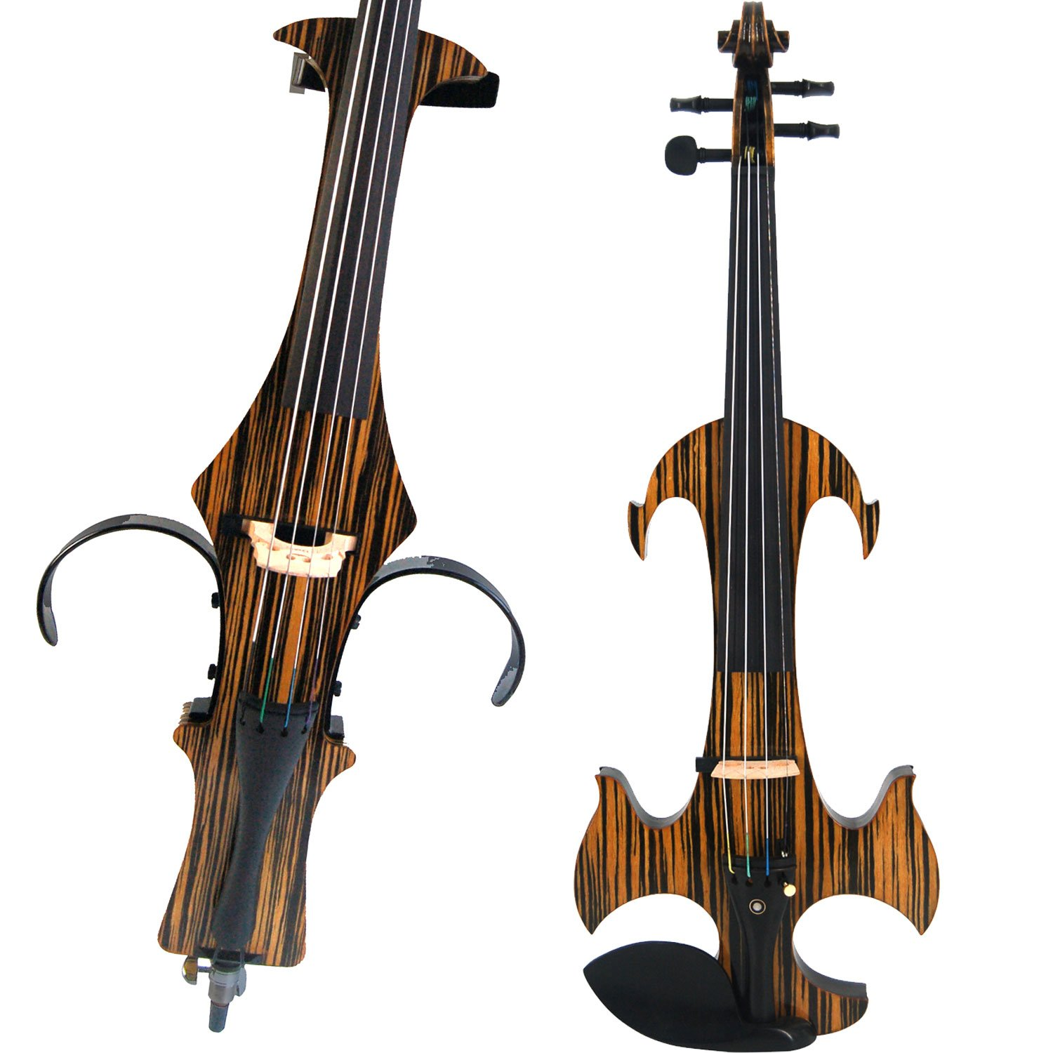 Leeche Handmade Professional Solid Wood Electric Cello 4/4 Full Size Silent Electric Cello-N1805 by Leeche