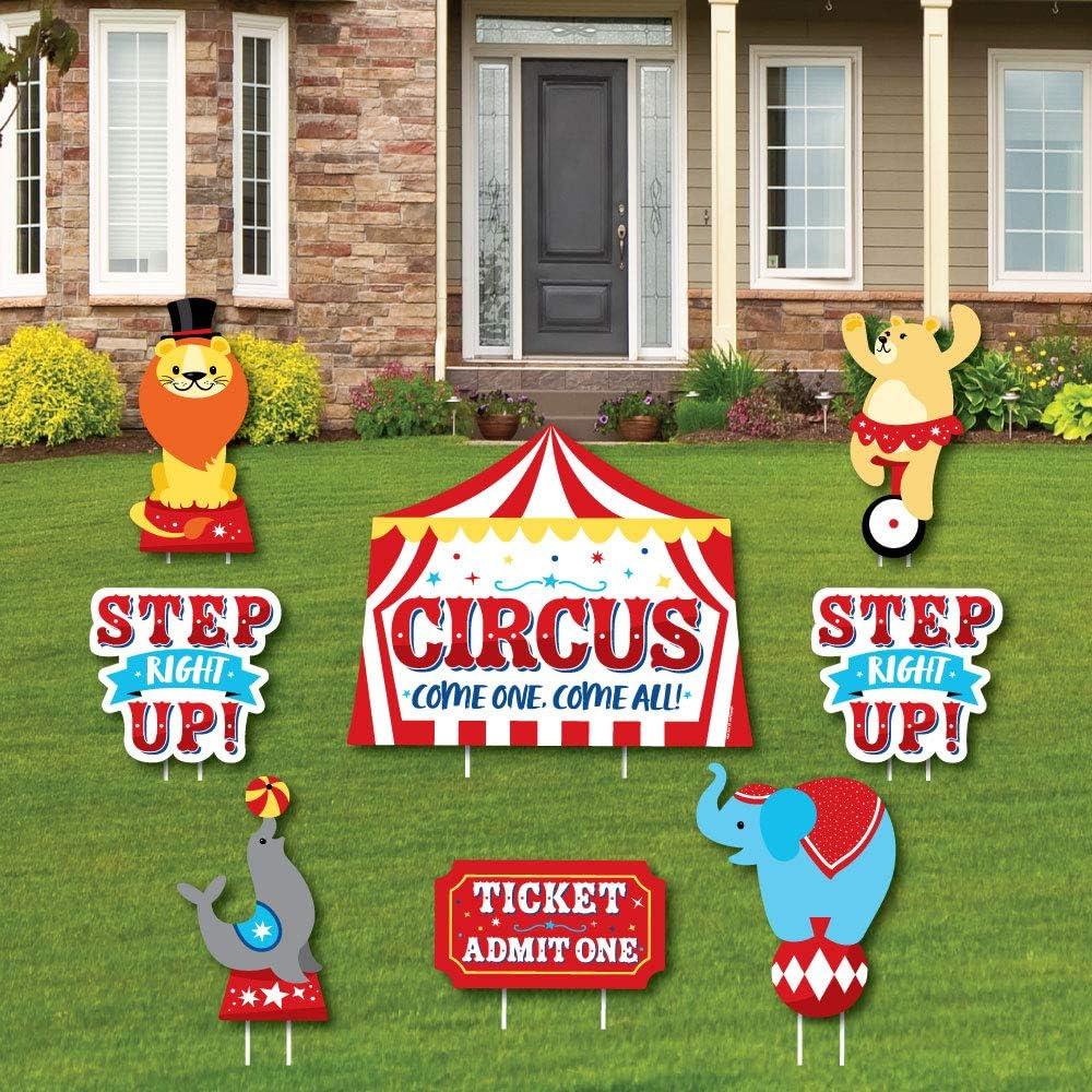 Circus Party Yard Signs