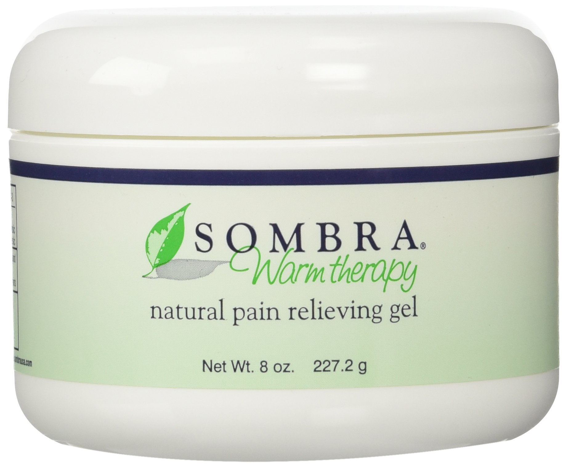 Sombra Warm Therapy Natural Pain Relieving Gel, 8 Ounce, 3 Count