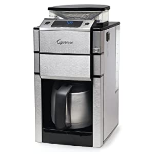 Capresso 488.05 Team Pro Plus Coffee Maker, Thermal Carafe, One Size Silver