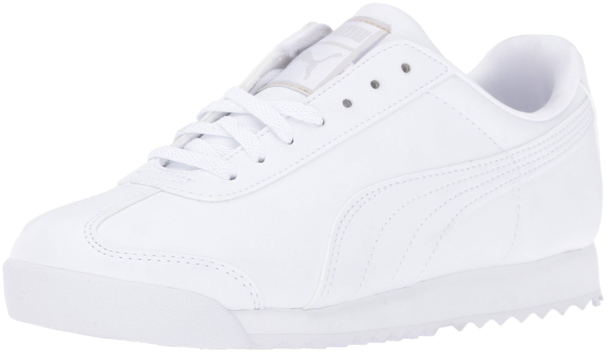 PUMA Roma Basic JR Sneaker , White/Light Gray, 3 M US Little Kid by PUMA (Image #1)