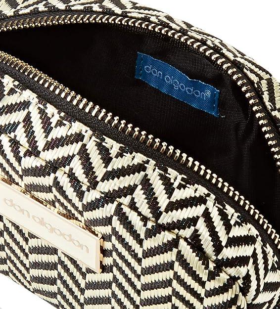 Don Algodón Urban, Bolsa de Viaje Neceser Mujeres, Oro, 18x10x3 cm: Amazon.es: Zapatos y complementos