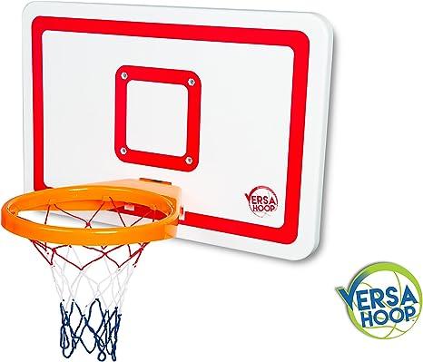 Trampolín XL Mini abrazadera Set de canasta de baloncesto con ...