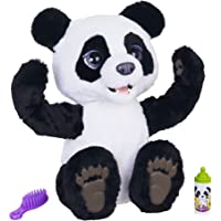 Furreal Plum The Curious Panda Bear Cub Interactive Plush Toy