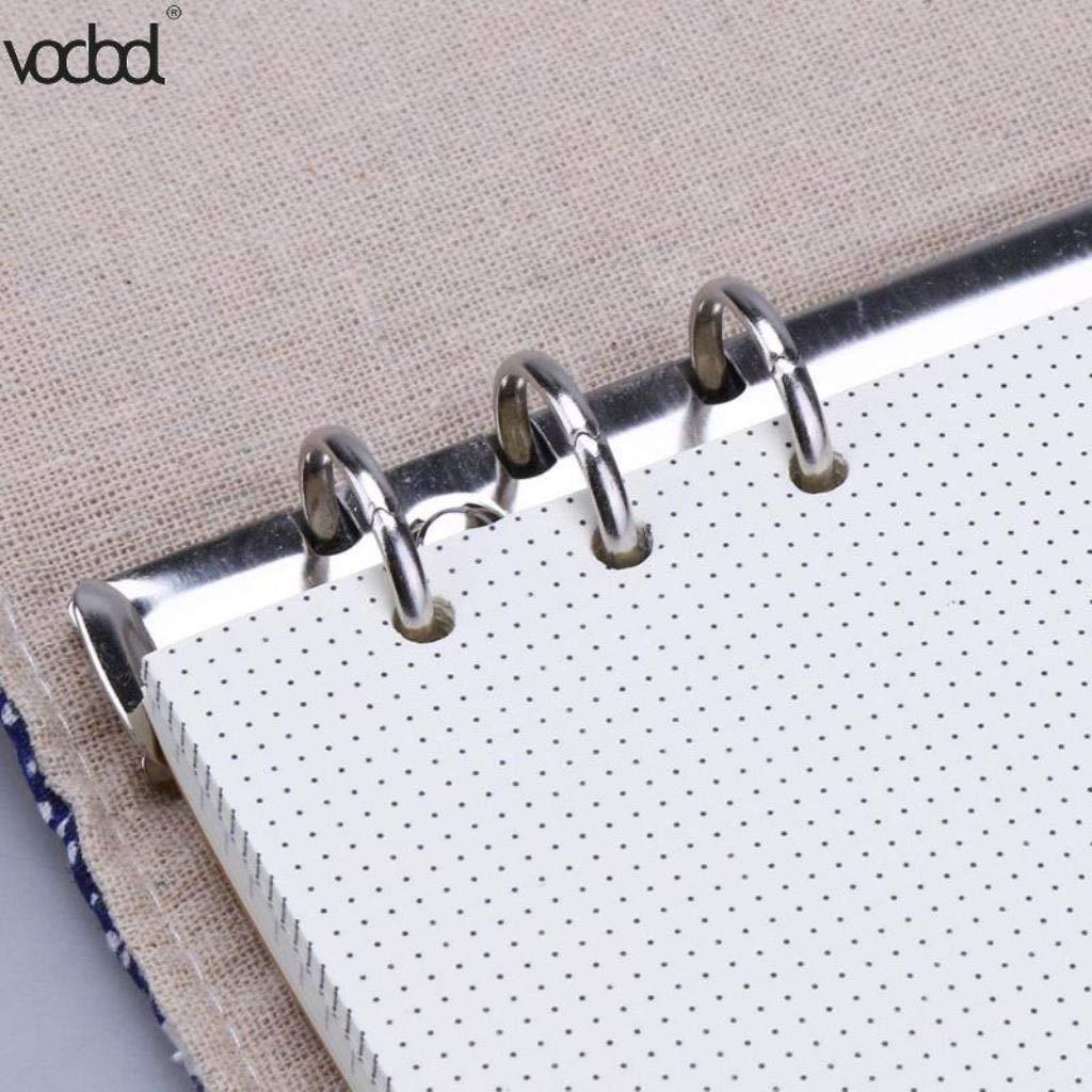 Amazon.com : A5/A6 Linen Cover Notebook Week Planner Agenda ...