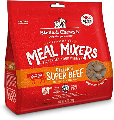 Stella-&-Chewy's-Freeze-Dried-Raw-Stella's-Super-Beef-Meal-Mixers-Grain-Free-Dog-Food-Topper