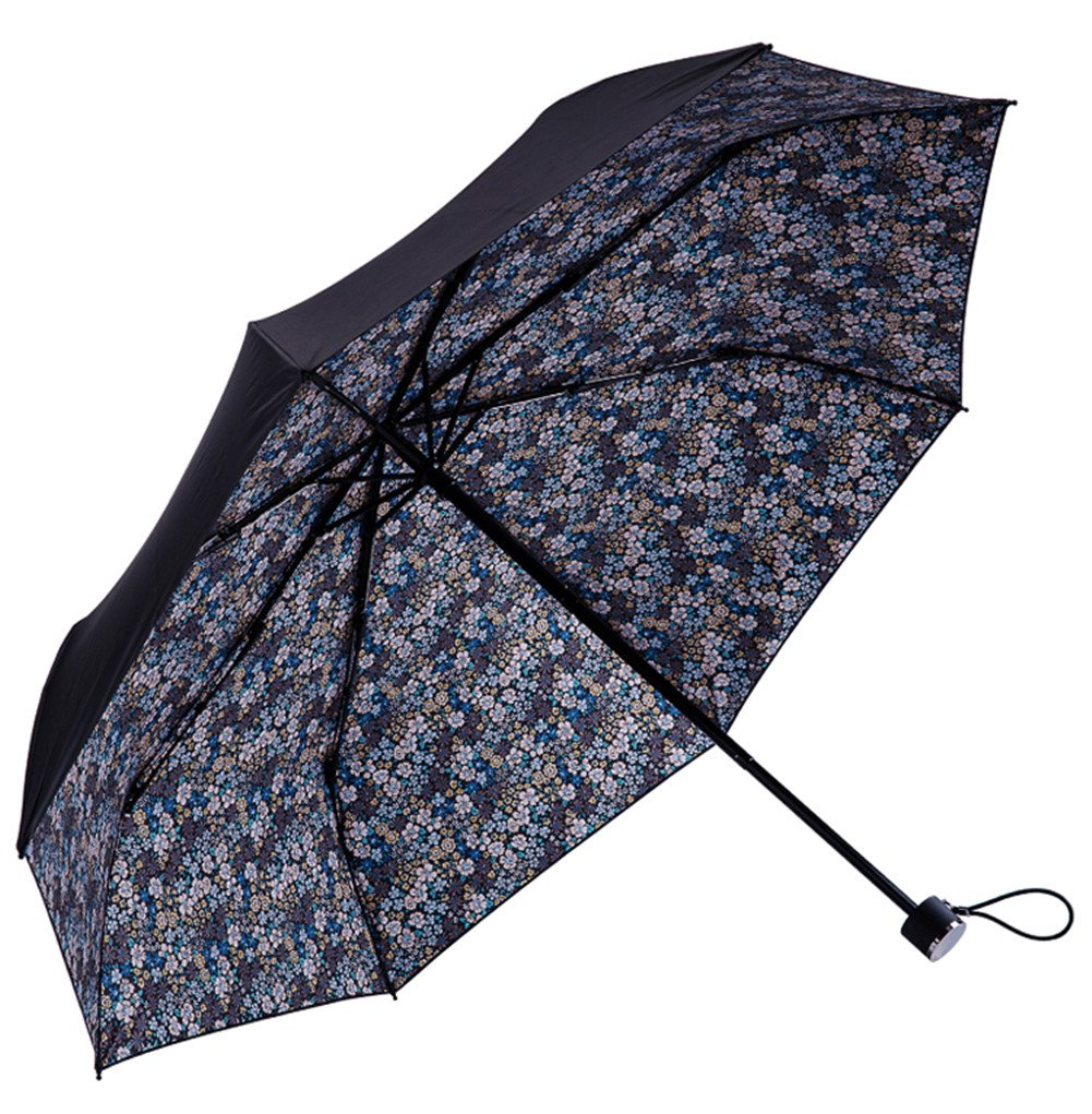 Evobak Rain Umbrella Travel Quick Dry Compact Portable Folding Umbrella Brand Windproof Rainproof Anti-UV Light Weight UPF 51+ for Rain/Sun