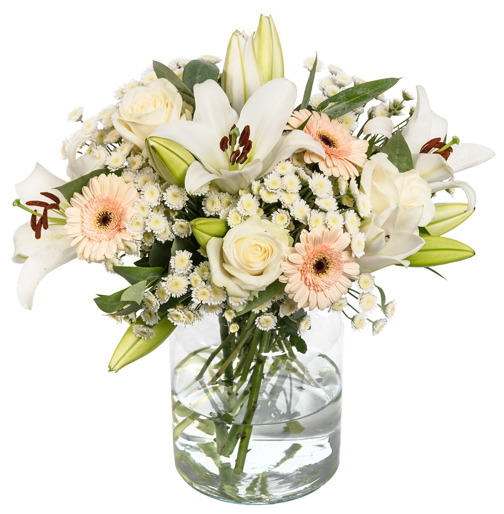 Fresh Scented Flowers Delivered Handwritten Card Free Uk