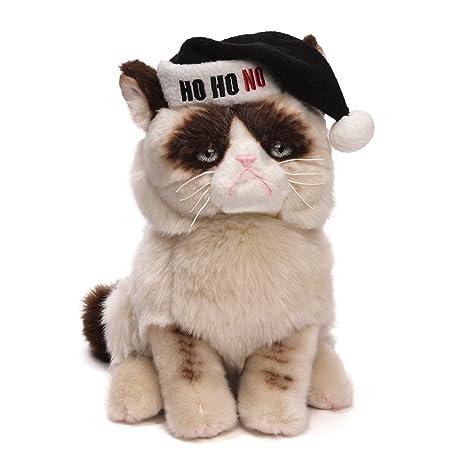 8758422e5ec2 Amazon.com: Gund Grumpy Cat Plush Christmas Stuffed Animal: Toy: Toys &  Games