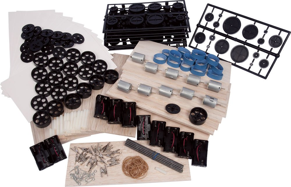 Pitsco Ray Catcher Solar Car Consumables Kit (For 10 Students)