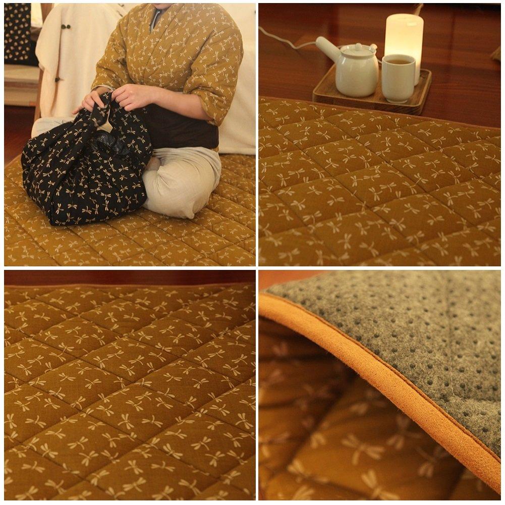 GX&XD Folding Mattress,Tatami Floor Mat Floor Lounger Cover Floor Mattress Tatami Mats Carpet Game Pad by GX&XD (Image #2)