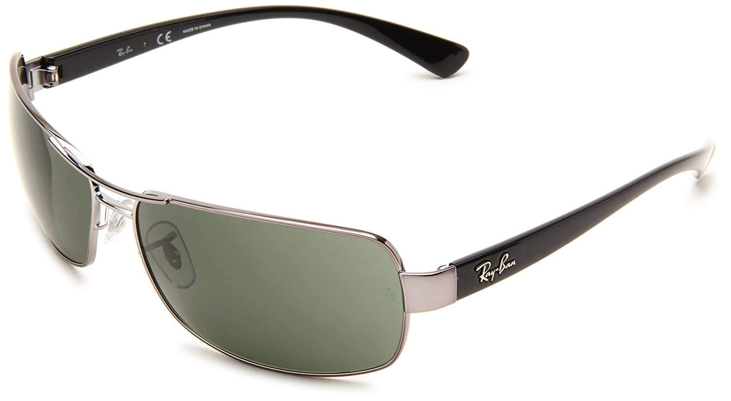 f02995d6a1d Ray-Ban Sunglasses (RB 3379 004 64)  Amazon.co.uk  Clothing