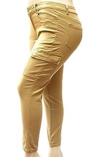 Amazon.com: Pantalones vaqueros vaqueros para mujer, talla ...