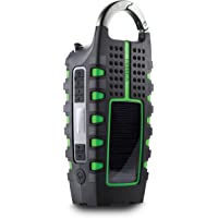 Eton Scorpion ll Rugged Portable Emergency Weather Radio with Smartphone Charger, NSP101WXGR