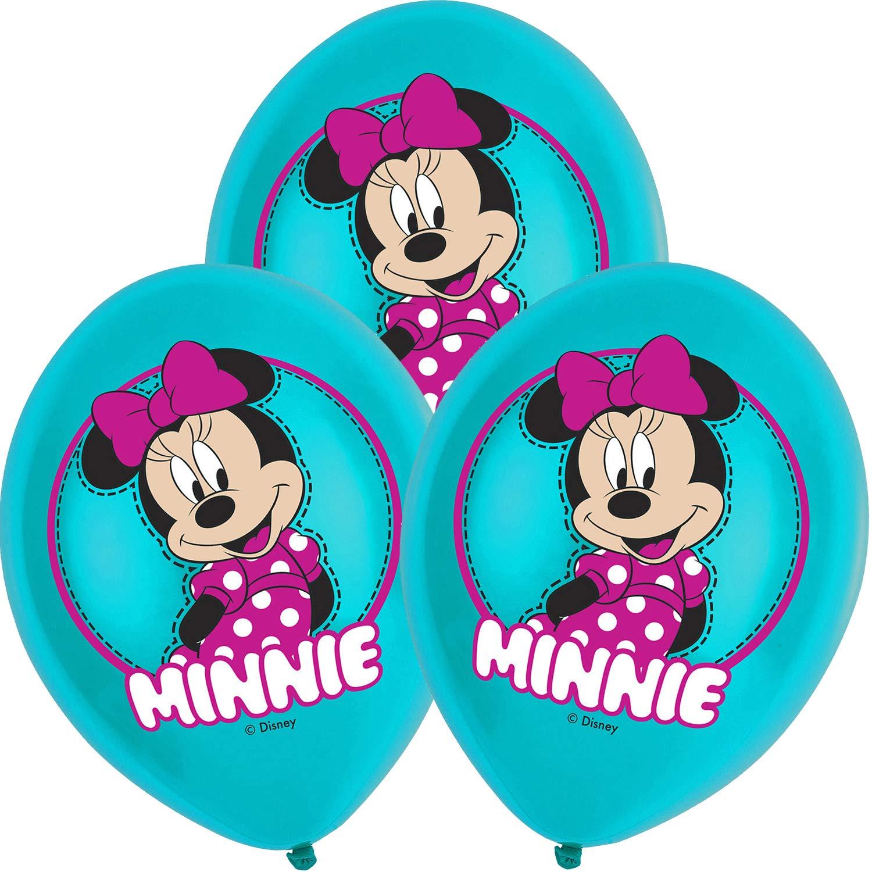 Neu: 6 Globos con diseño de Minnie Mouse para decoración de ...