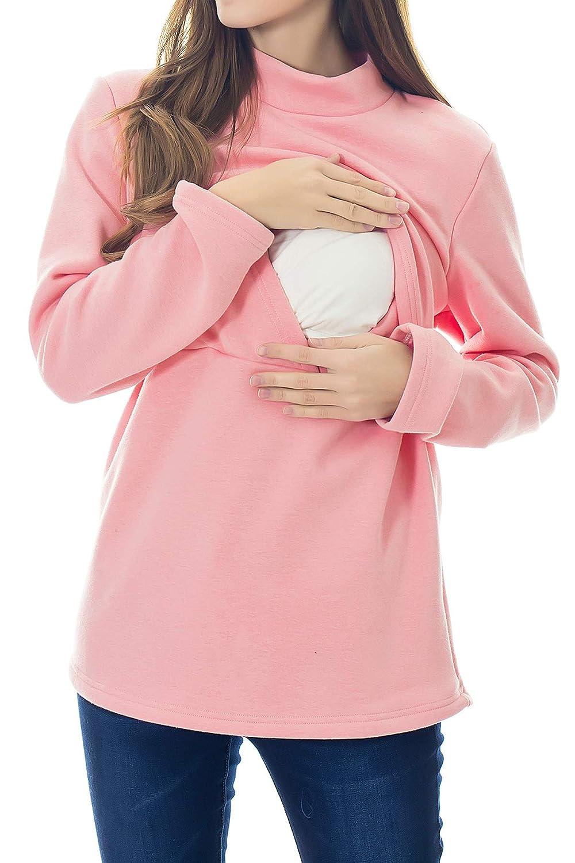 Smallshow Damen Damen Damen Langarmshirt B07L688DLS Langarmshirts Sonderkauf 3862ae