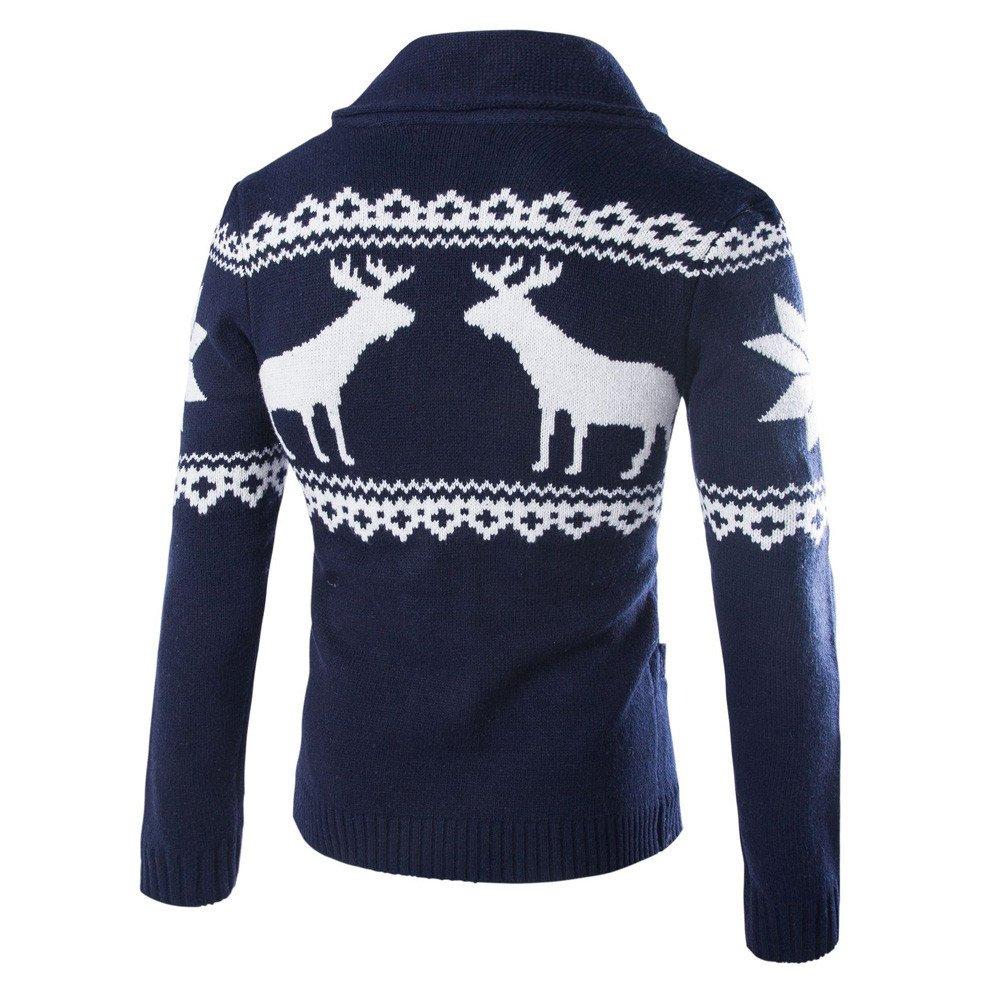 Amazon.com: Preferential New Zlolia Men\'s Winter Christmas Sweater ...