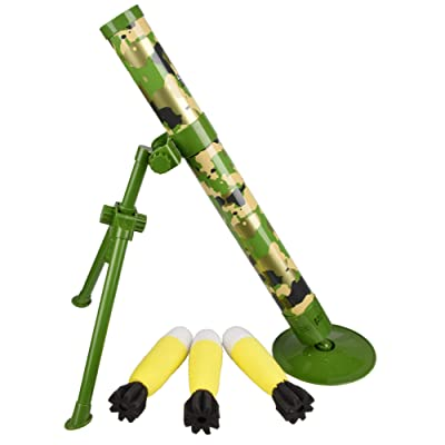 GDYS Mortar Toy Jedi Survival eat Chicken Toy Rocket Launcher Rocket Launcher Model Children Toy Gun Fun Educational Toy.: Toys & Games