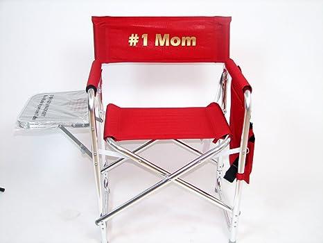 Amazon.com: Personalizada Deportes silla de director con ...