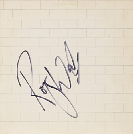 Roger Waters Autographed Pink Floyd The Wall Album Cover - COA - PSA ...