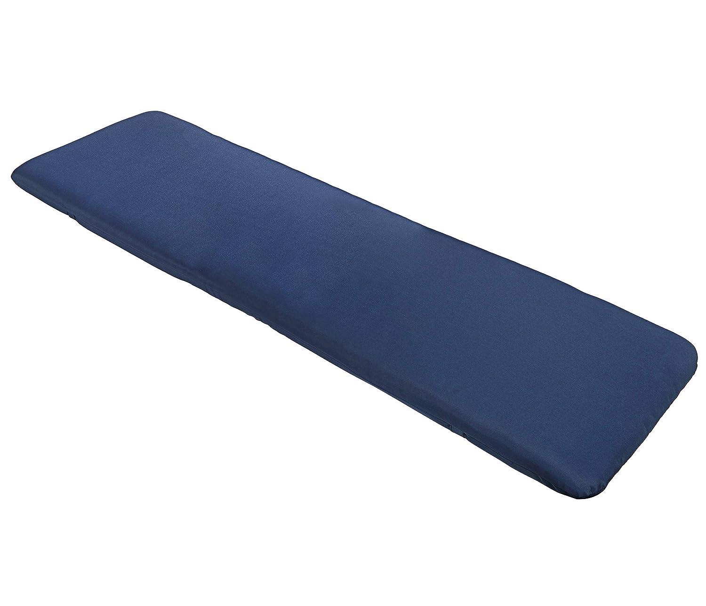 105 x 50 x 6 cm blau Dehner Niederlehner Auflage Tulum ca Polyester