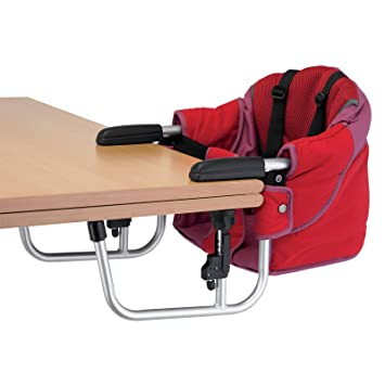 Zooper Hook-On Chair Red (Discontinued by Manufacturer)  sc 1 st  Amazon.com : hook on table chair - Cheerinfomania.Com
