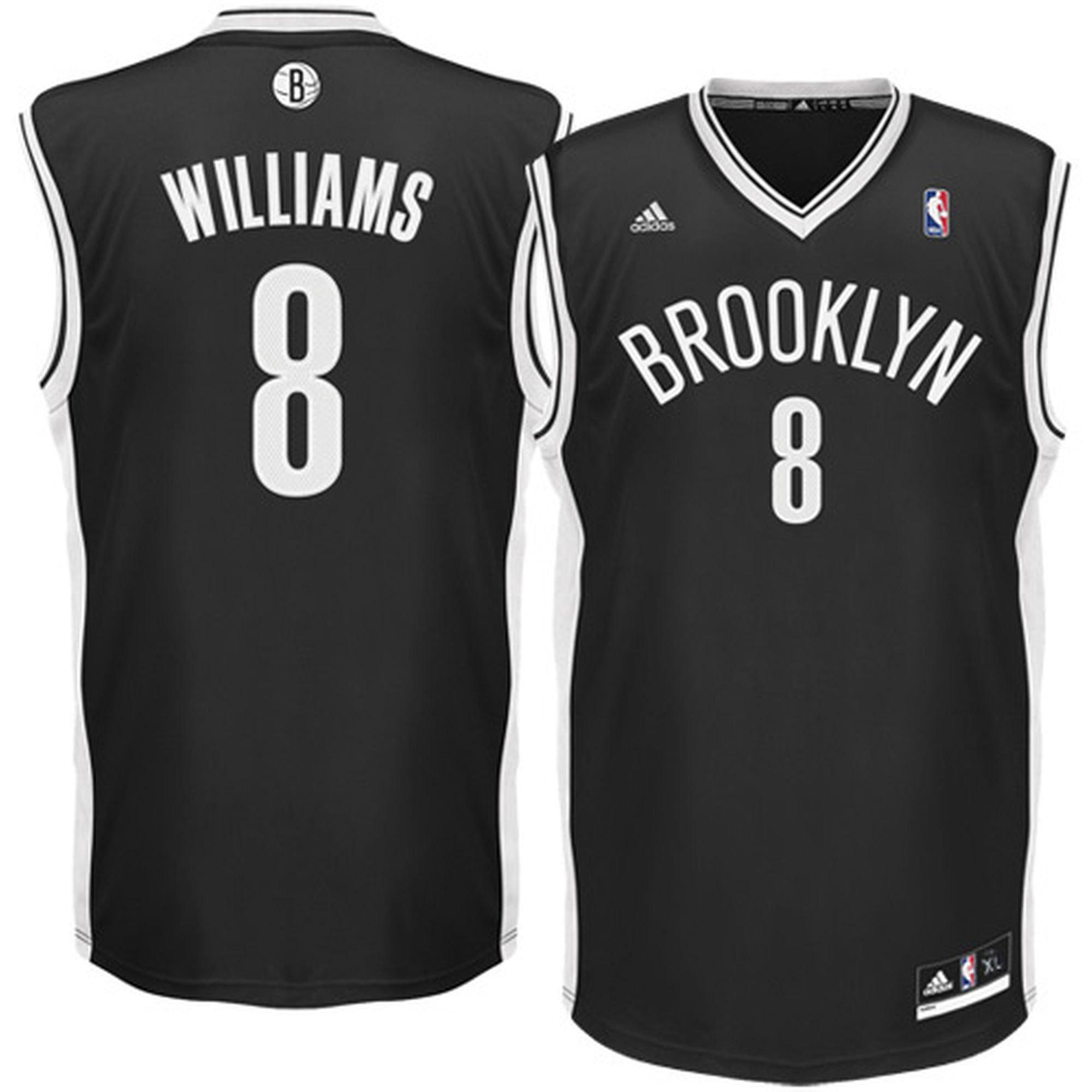 Deron Williams Youth Brooklyn Nets Black Replica Basketball Jersey