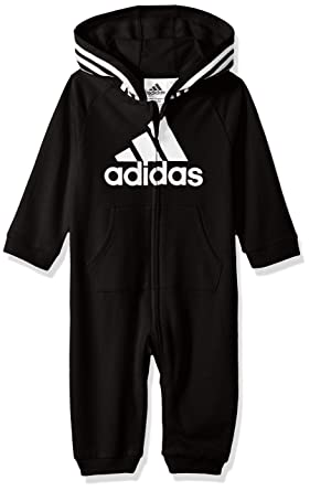725fc4efb Amazon.com: adidas Baby Girls and Baby Boys Coverall: Clothing