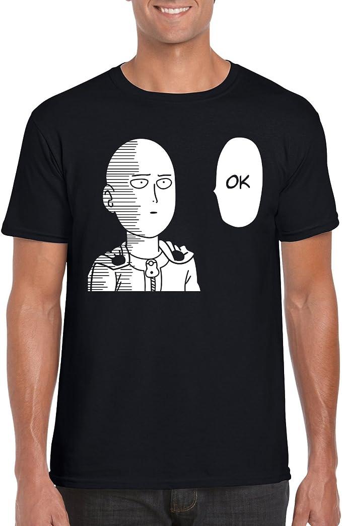 OK One Punch Man Saitama Anime Inspired T-Shirt