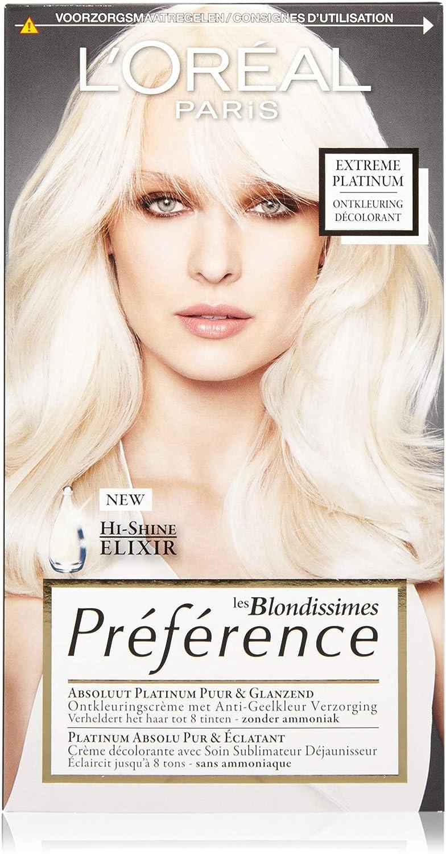 LOreal - Tinte Recital Préférence Les Blondissimes - Platino extremo.