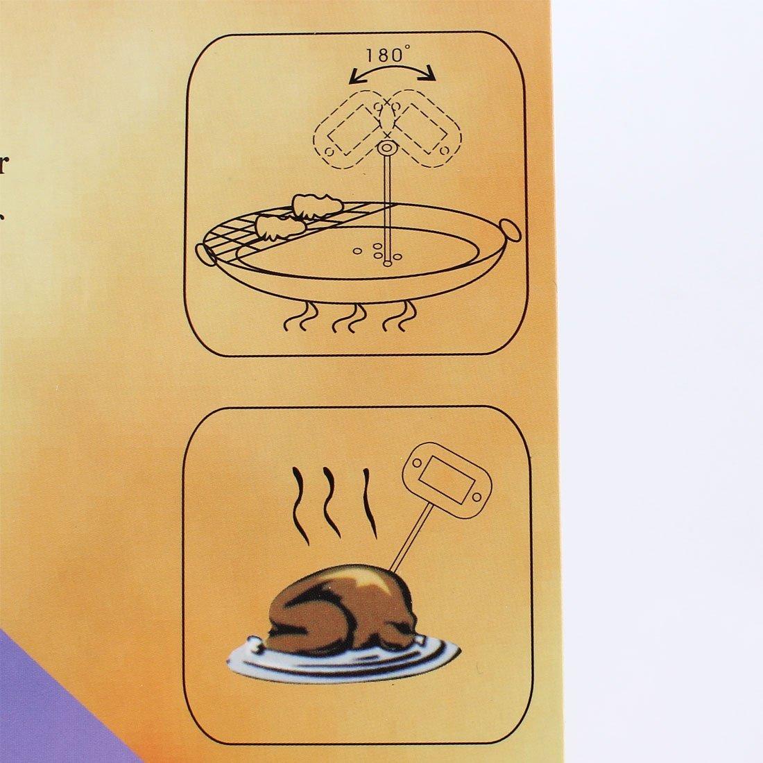 eDealMax -50C a + 300C Pantalla Digital sonda cocina que cocina el termómetro del alimento: Amazon.com: Industrial & Scientific
