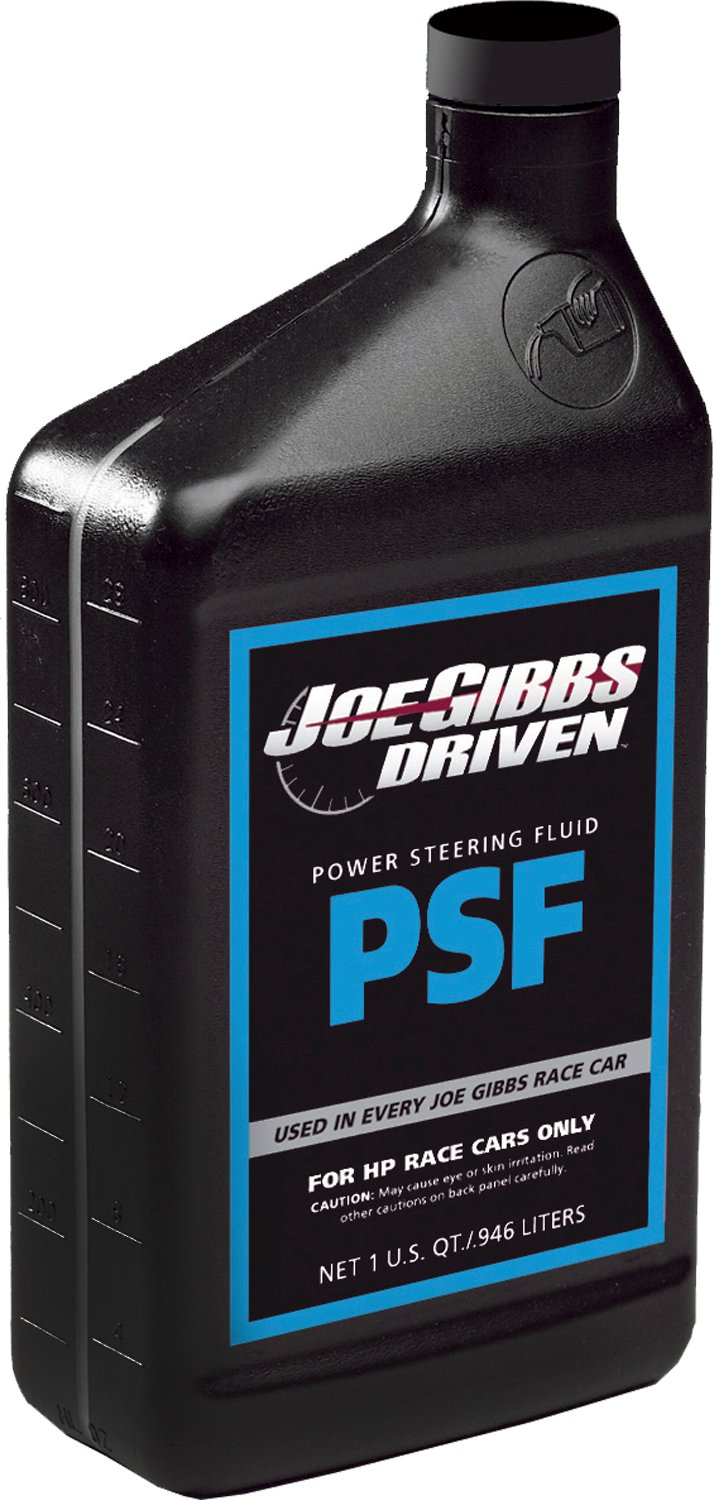 Joe Gibbs Driven Racing Oil 01307 Synthetic Power Steering Fluid - 1 Quart Bottle, Pack of 12 by DRIVEN