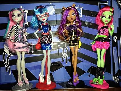 Amazon.es: Mattel - Monster High. Pack Noche de Monstruo-Fiesta: Juguetes y juegos