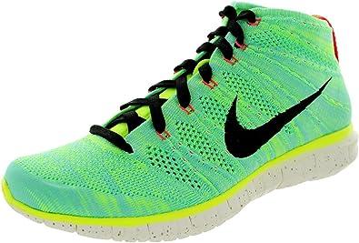 Nike - Zapatillas de Running FLYKNIT CHUKKA PR QS para Hombre - 640652 300 - Híper Turquesa/Marfil Negro, 46: Amazon.es: Zapatos y complementos