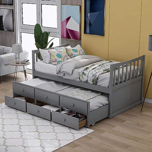 Rhomtree Storage Twin Bed