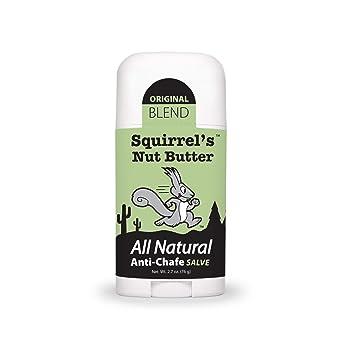 Squirrel's Nut Butter All Natural Anti Chafe Salve, Stick Applicator, 2.7 oz