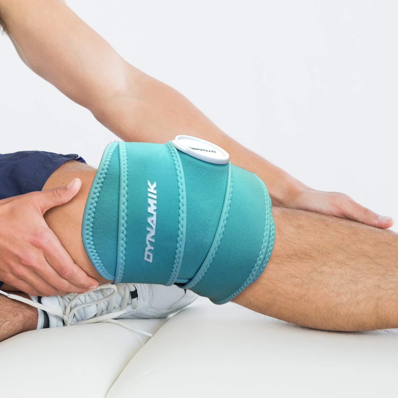 Dynamik Products - Bolsa de hielo con envoltorio de neopreno opcional