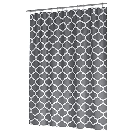 Ideal Textiles Moroccan PEVA Shower Curtain Luxury Morocco Tile Design Waterproof Curtains Panels