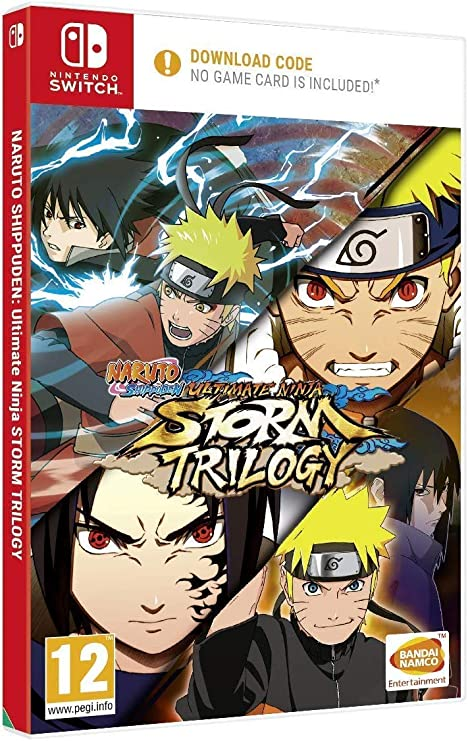 Naruto Shippuden: Ultimate Ninja Storm Trilogy (Code in a Box) NSW ...