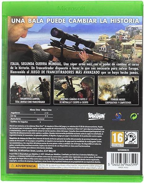 Sniper Elite 4 - Standard Edition: Amazon.es: Videojuegos