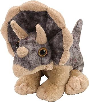 Amazon Com Wild Republic 10893 Triceratops Plush Dinosaur Stuffed