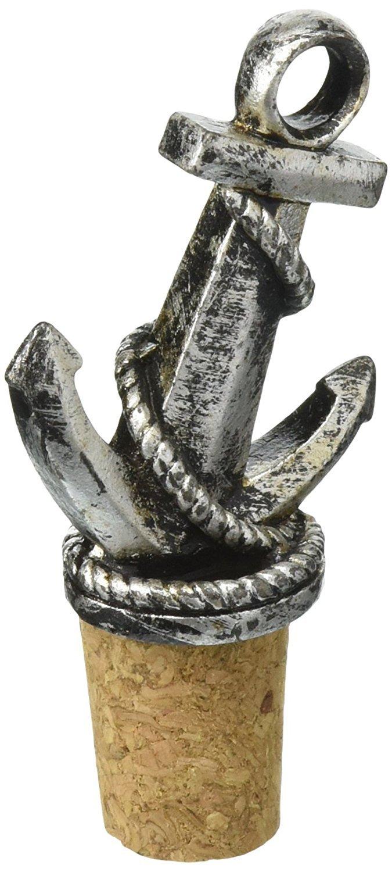 Nautical Anchor Bottle Stopper
