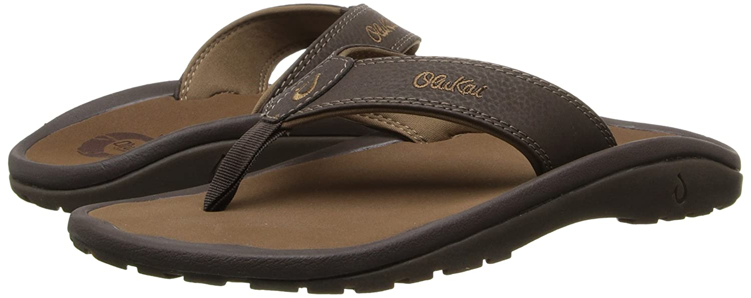 17bac1062d OluKai Ohana - Men s Depth Black 10  Buy Online at Low Prices in India -  Amazon.in