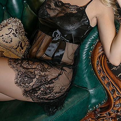 9a6907633dcd8 Sunday77 Sexy Women s Lingerie Lace Dress Underwear Temptation Underwear  Intimate Nightwear Teddy Babydoll Pajamas Sexy Ladies Wild Temptation Plus  Size  ...
