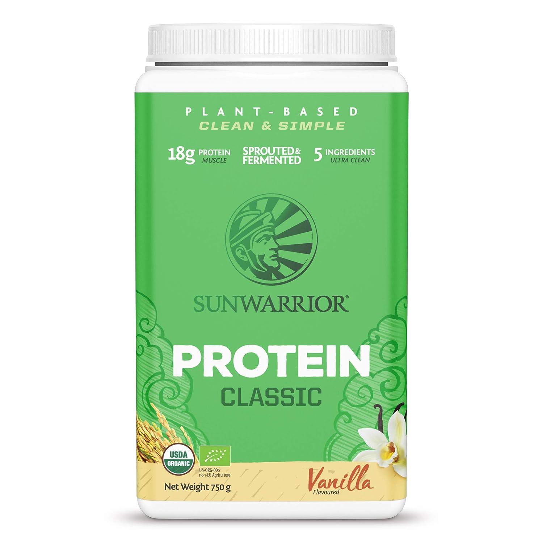SUNWARRIOR Organic Brown Rice Protein Vanilla, 26.45 Ounce: Health & Personal Care