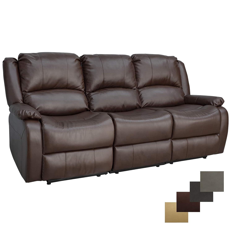 amazon com charles ashton home collection 80 triple recliner rh amazon com turner triple reclining sofa triple reclining sofa fabric