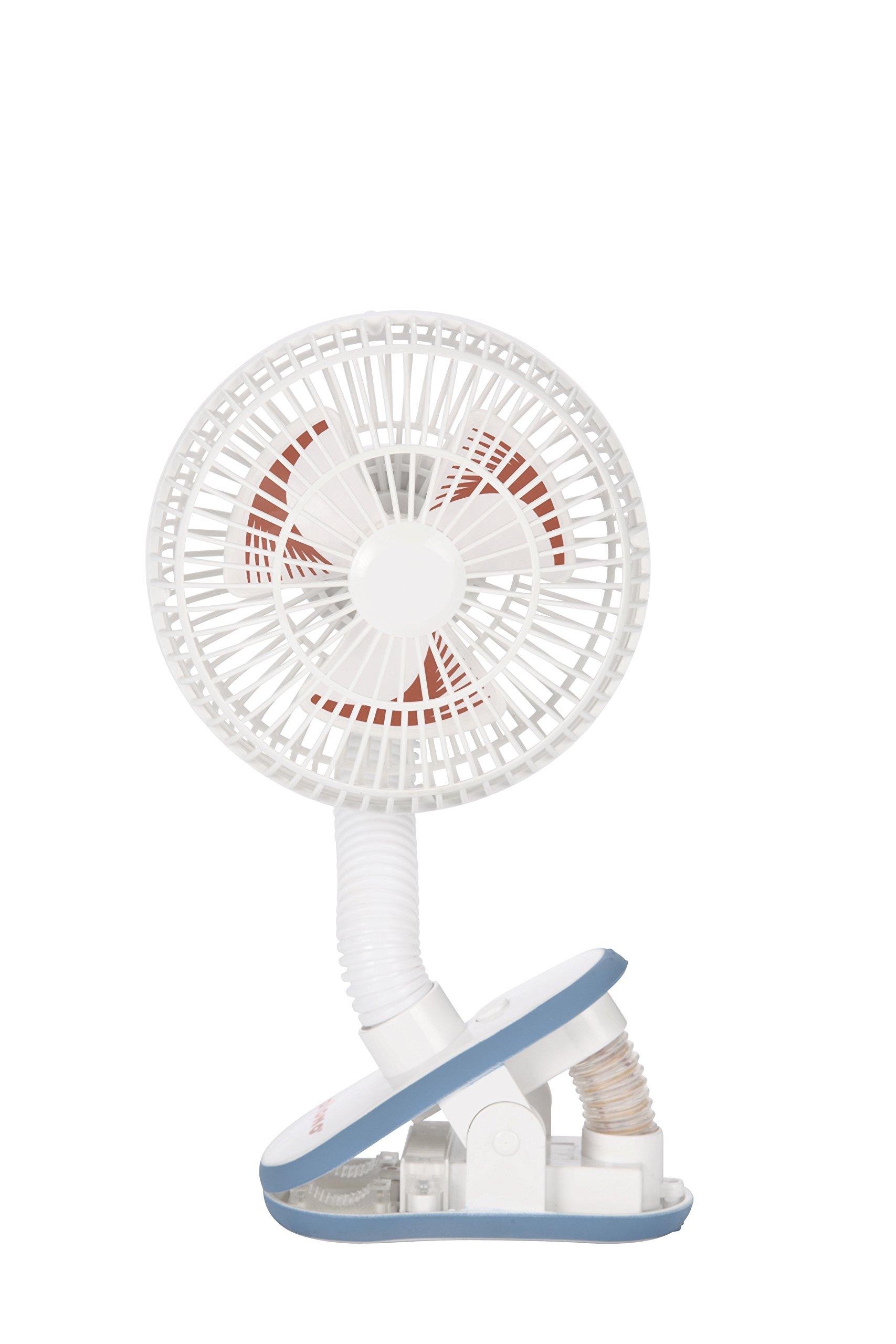Diono Stroller Fan, Bright,