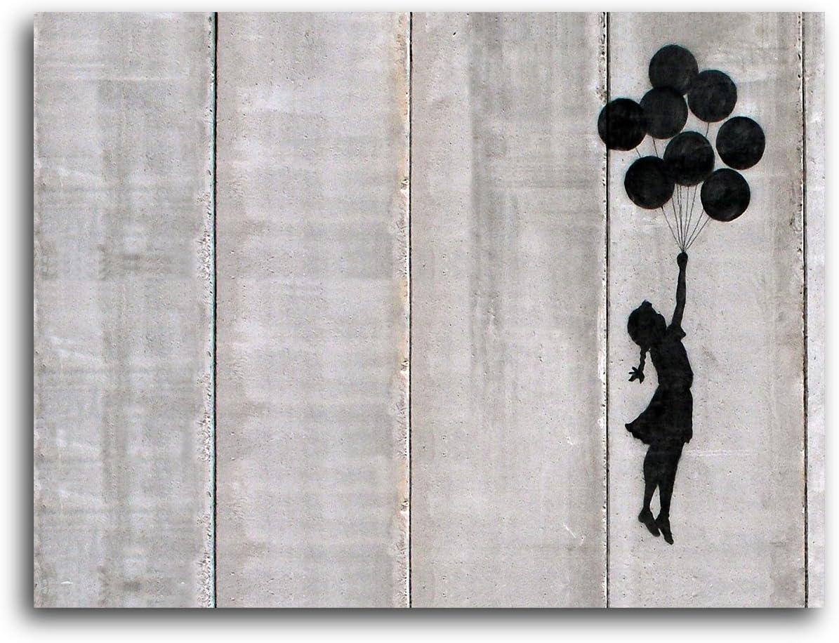 MEDIUM - 4 x 14.5 inches Ideal Stencils Banksy Flying Balloon Girl Stencil