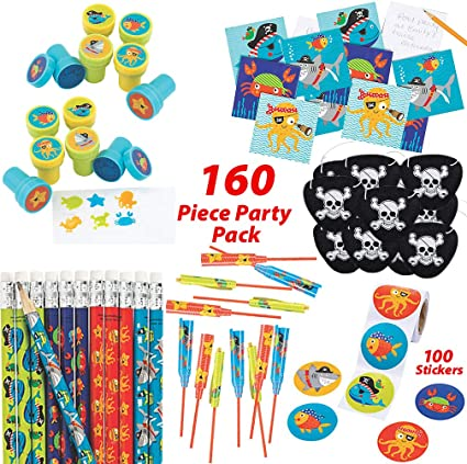 12 Pirates YoYo/'s  PIRATE PARTY FAVORS